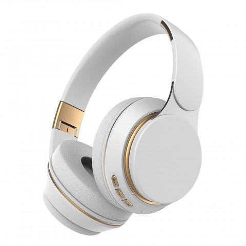 Kuura Bass langattomat kuulokkeet, Valkoinen
