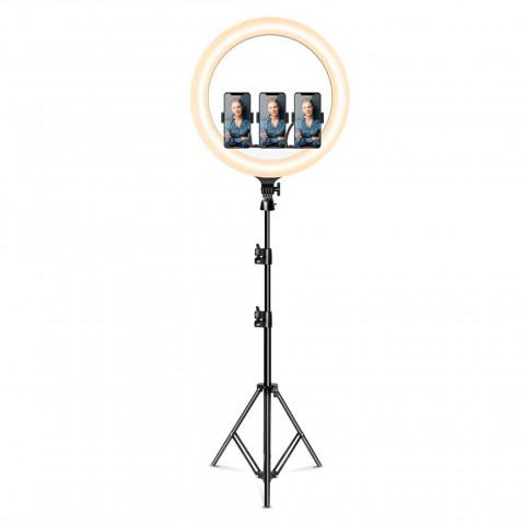 "Snapsy Ring Light 18""- Kuvausvalo (210cm)"
