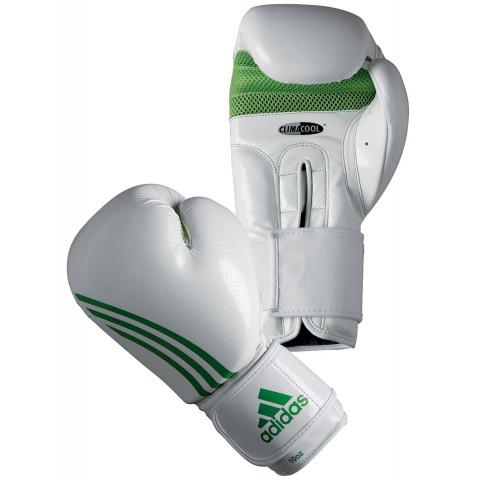 Adidas Box-Fit Nyrkkeilyhanskat, valkoinen / vihreä
