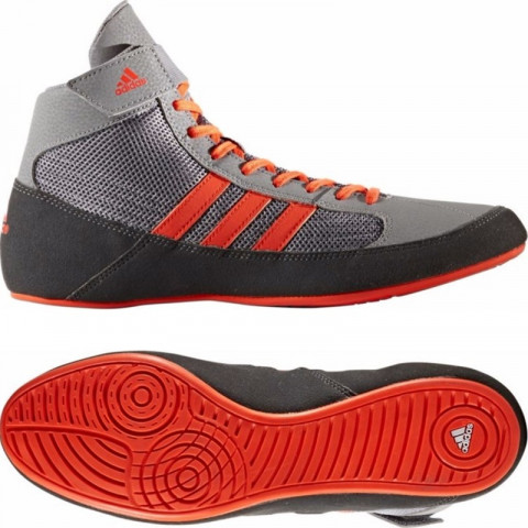 Adidas HVC Grey/Solar Red Painikengät