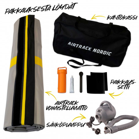 AirTrack Nordic Carbon ilmavolttirata