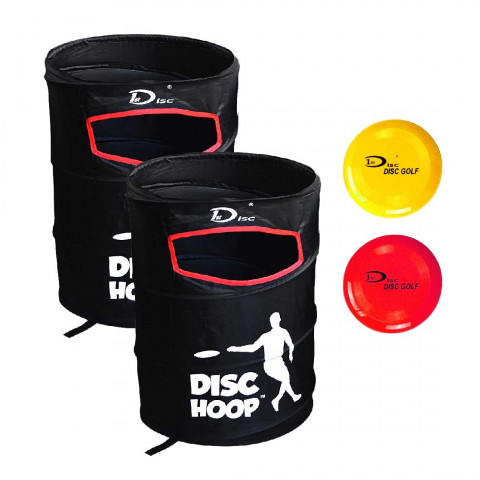 1st Disc Pop up frisbeegolfkorisetti + kiekot
