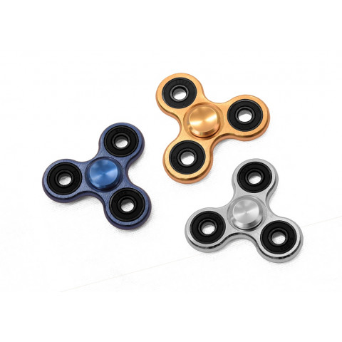 Fidget Spinner Metal Setti, 3 Spinneriä
