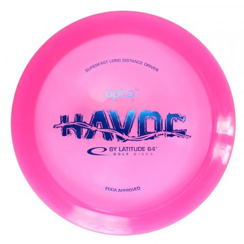 Latitude 64° Opto Havoc frisbeegolf -kiekko