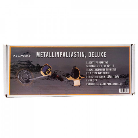 Klondike Deluxe metallinpaljastin