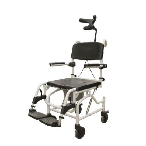 Suihkupyörätuoli Siiri, kallistettava ja korkeussäädettävä