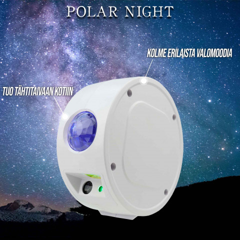 Polar Night Tähti Projektori