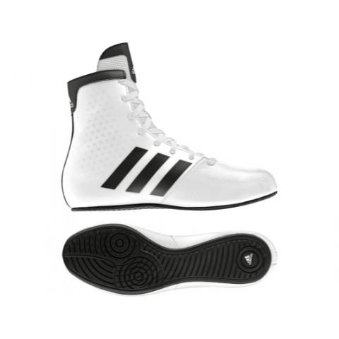Adidas KO Legend Lasten Nyrkkeilykengät, Valkoiset
