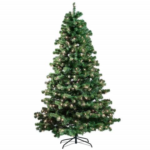 Joulukuusi 180x118cm, LED -valoilla
