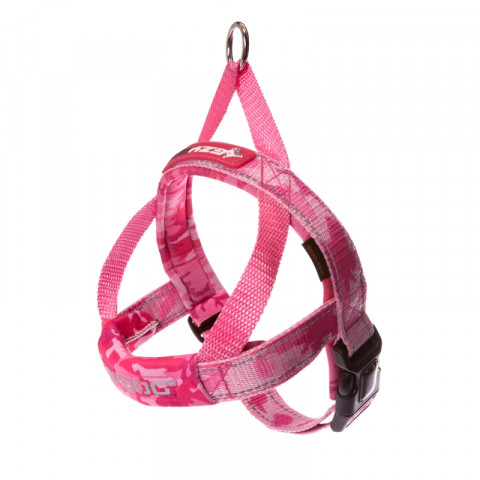 Ezydog valjaat Harness Quick Fit, pinkki