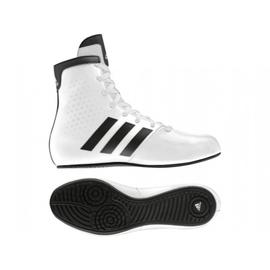 online store dd7c2 2cb88 Adidas KO Legend Lasten Nyrkkeilykengät, Valkoiset