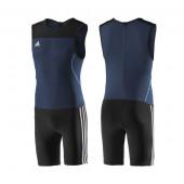 Adidas Clima Lite miesten painonnostotrikoot, sininen