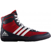 Adidas Mat Wizard 3 Painitossut, musta/punainen