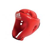 Adidas Rookie lasten nyrkkeilykypärä, punainen