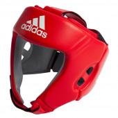 Adidas aiba nyrkkeilykypärä, punainen