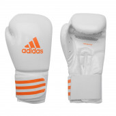 Adidas Box-Fit Nyrkkeilyhanskat, Valkoinen / Oranssi