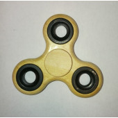 Fidget Spinner Sormihyrrä, Brushed Wood