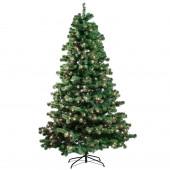 Joulukuusi 210x138cm, LED -valoilla