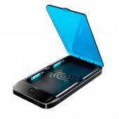UV-puhdistin puhelimelle langattomalla laturilla ja akulla