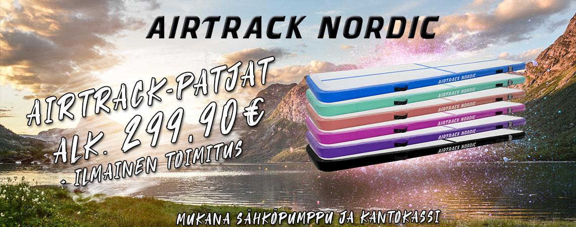 AirTrack Nordic ilmavolttipatjat
