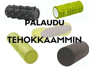 Foam Roller Pilatesrulla kehonhuoltoon ja fasciaan